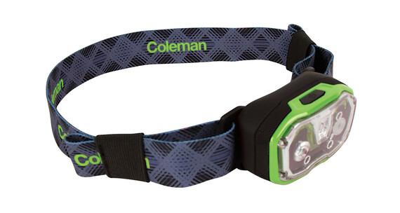 Coleman CXS+ 300 Lithium Ion hoofdlamp groen/blauw